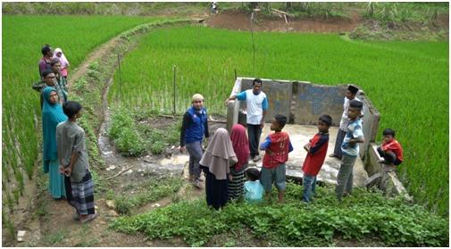 Alhamdulillah….! Setelah 10 Tahun Warga Lebak Banten Sudah Punya Sumur Air Bersih.