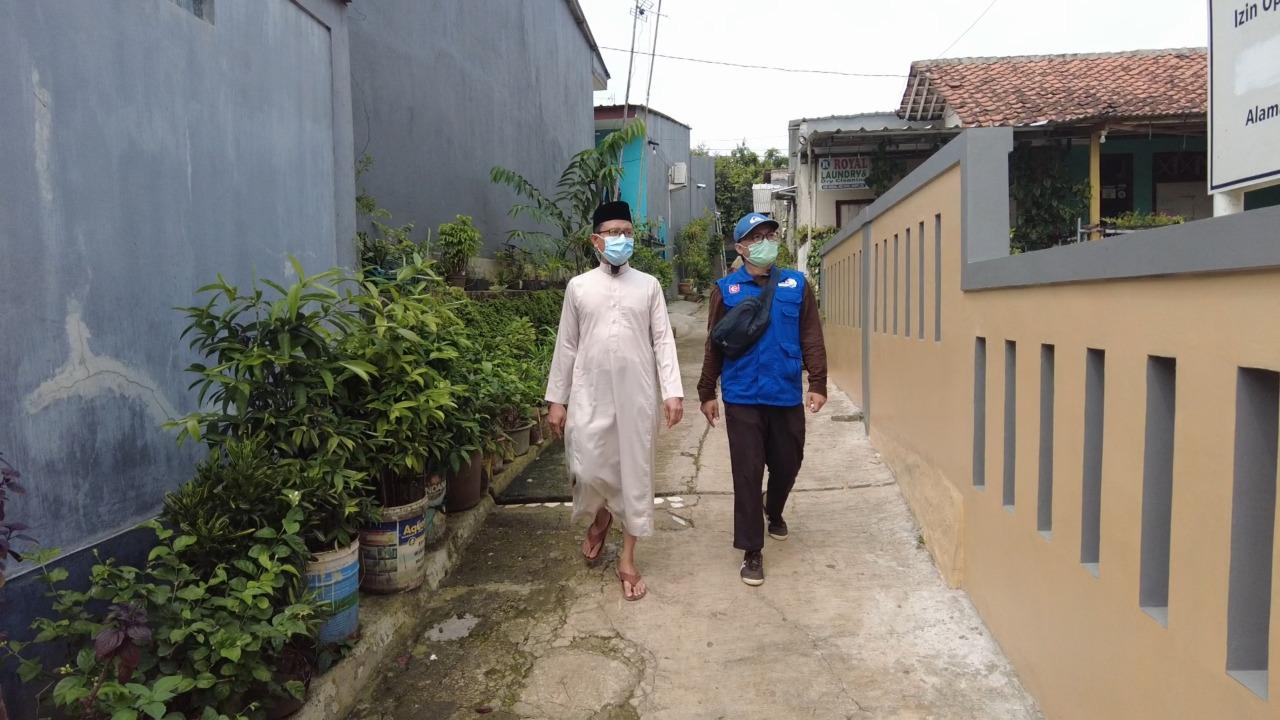 Sedekah Kreatif Bantu Pembebasan Lahan Untuk Yayasan Permata Islam, Cibinong, Bogor.