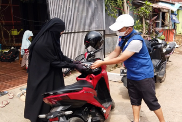 Kembali Sedekah Kreatif Salurkan Motor Untuk Da'i Di Cikampek, Jawa Barat