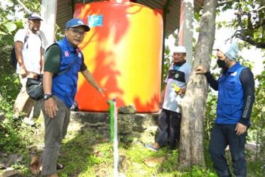 Sedekah Kreatif Membantu Warga yang Alami Kesulitan Air Bersih di Wilayah Dusun Gayam, Wonogiri
